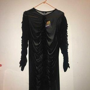 Sheer bodycon dress